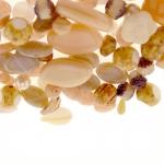 Pärlisegu Beežikas-kreemikates toonides eri suurusega pärlitest 5-20mm, 100/50g pakk