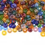 Pärlisegu Kirjudes toonides pärlitest 6-6,5mm, 100/50g pakk