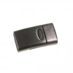 Roostevabast, harjatud terasest (stainless steel) kandiline magnetkinnis, 29 x 15 x 9mm