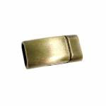 Metallist, kandiline magnetkinnis, 25 x 13 x 8mm