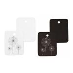 Label tags, cardboard, 2,5 x 3,5 cm, 10 pcs