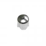 Sile metallist pärlikübar, kellukakujuline, 8mm