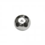 Metallist, needitaoline, alt nelja auguga nööp, 14mm, 24L