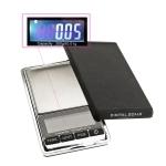 Täpne digitaalne taskukaal kaanega-kaalumiskausiga, 11,5 x 6,5 x 1,6 cm, kuni 300 g; -/+ 0,01 g, KL1701
