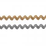 Metallik sik-sak pael laiusega 9 mm, 841513921