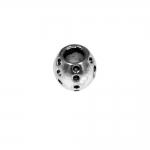 Metallist süvendatud mustriga pandora tüüpi helmed 10mm