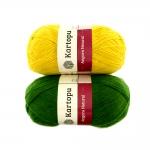 Wool Mix Yarn Angora Natural, Kartopu