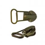8 mm coil, spiral zipper slider