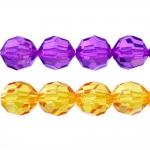 Ümmargune tahuline kristall 15mm