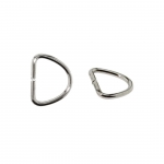 D-ring, half ring 9,4 mm x 7,5 mm for tape width 7 mm