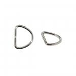 D-rõngas, D-aas, valatud poolrõngas 9,4 mm x 7,5 mm rihmale laiuses kuni 7 mm