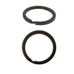 Двойные колечки для ключей и брелка ø30 x 2,2 мм