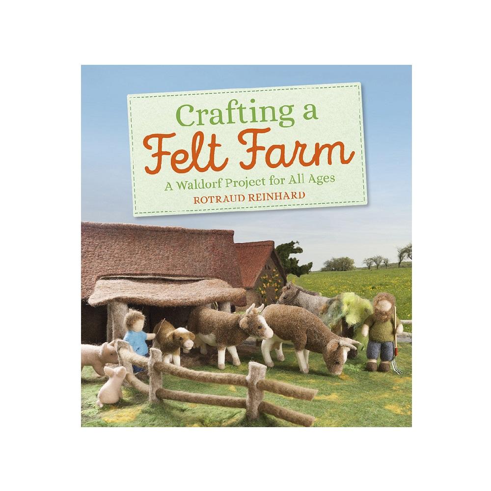 Raamat `Crafting a Felt Farm`