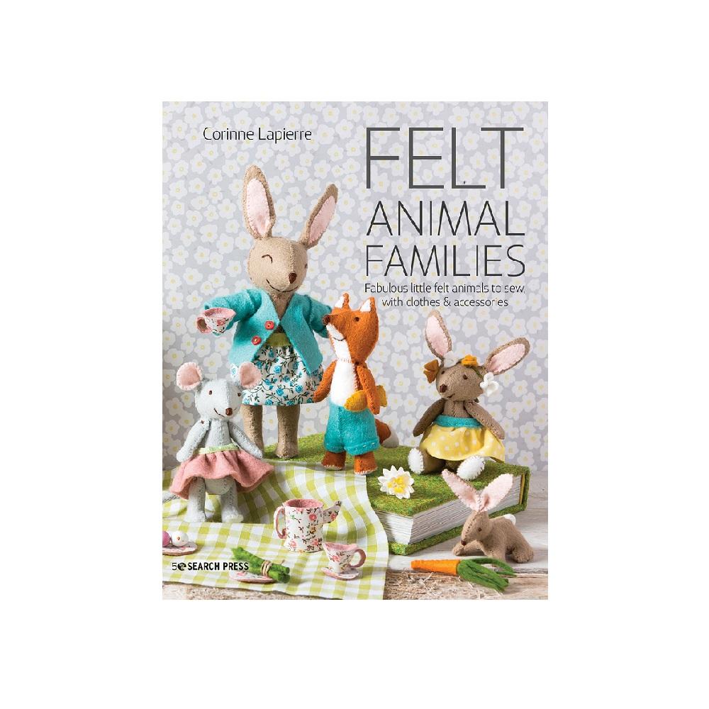Raamat `Felt Animal Families`