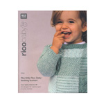 Raamat `The little Rico Baby knitting booklet`