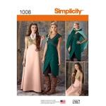 Naiste fantaasiariietus, Simplicity Pattern #1008