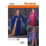 Naiste fantaasiariietus, Simplicity Pattern #1009