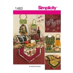 Dekoreerimise ja lauakatmise tarvikud, Simplicity Pattern #1483