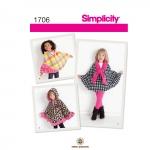 Laste fliiskeebid, suurused: A (S-M-L), Simplicity Pattern #1706