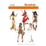 Naiste kostüümid, Simplicity Pattern #1770