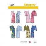 Lasteriided poistele ja tüdrukutele, Simplicity Pattern #1043