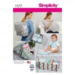 Aksessuaarid Väikelastele, Simplicity Pattern #1177