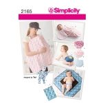 Baby Accessories, Sizes: A (ALL SIZES), Simplicity Pattern #2165