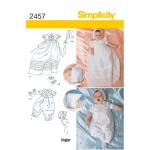 Väikelaste eriliste sündmuste, suurused: A (XXS-XS-S-M), Simplicity Pattern #2457