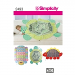 Rag Quilt Sewing Patterns, Sizes: OS (ONE SIZE), Simplicity Pattern #2493