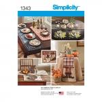 Aksessuaare lauale, Simplicity Pattern #1343