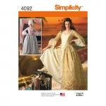 Naiste kostüümid, Simplicity Pattern #4092