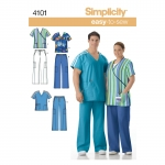 Naiste ja meeste pluss-suurustele riietus, Simplicity Pattern #4101