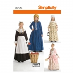 Child & Girl Costumes, Simplicity Pattern #3725