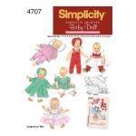 Nukuriided, suurused: A (S,M,L), Simplicity Pattern #4707