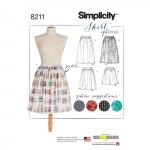 Naiste Dirndl seelikud kolmes pikkuses, Simplicity Pattern #8211