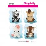 Tekstiilloomad, Simplicity Pattern #8034