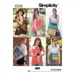 Festivalikotid neljas suuruses:, Simplicity Pattern #8356