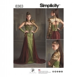 Naiste fantaasia-Ranger kostüüm, Simplicity Pattern #8363