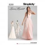 Kleidid erilisteks sündmusteks, Simplicity Pattern #8289