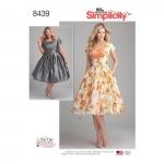 Kleit pihavariatsioonidega, Simplicity Pattern # 8439