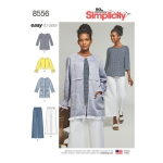 Women's` Easy To Sew Separates, Simplicity Pattern #8556