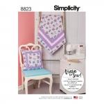 Tepitud tekk ja padi, Simplicity Pattern #8823