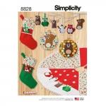 Pühadedekoratsioonid, Simplicity Pattern #8828