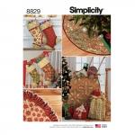 Pühadedekoratsioonid, Simplicity Pattern #8829