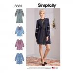 Naiste kleidid, Simplicity Pattern #8689