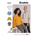Naiste topid, Simplicity Pattern #8694