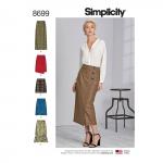 Naiste hõlmikseelikud pikkusevariatsioonidega, Simplicity Pattern #8699