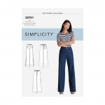 Women`s Trousers with Options for Design Hacking, Simplicity Pattern #8701