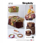 Reisikotid, võtmetagused, tutid, Simplicity Pattern #8710