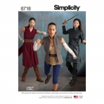 Naiste kostüümid, Simplicity Pattern #8718